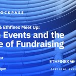 Image for the Tweet beginning: The @BlockpassOrg and @Ethfinex Meet