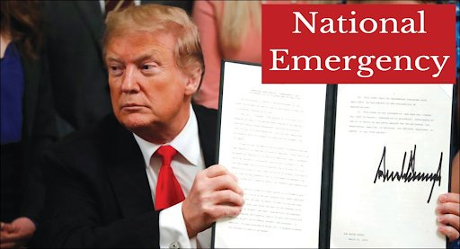 #WW3: President Trump signed an executive order declaring #NationalEmergency against foreign #TelecomCompanies deemed a threat to US security. The move comes at a time when tensions scale up between the US-China as they are embroiled in a trade war.  http:// worldwarthird.com/index.php/2019 /05/17/trump-emergency-foreign-telecom-cyber-attacks/ &nbsp; … <br>http://pic.twitter.com/wAszux2Bgl