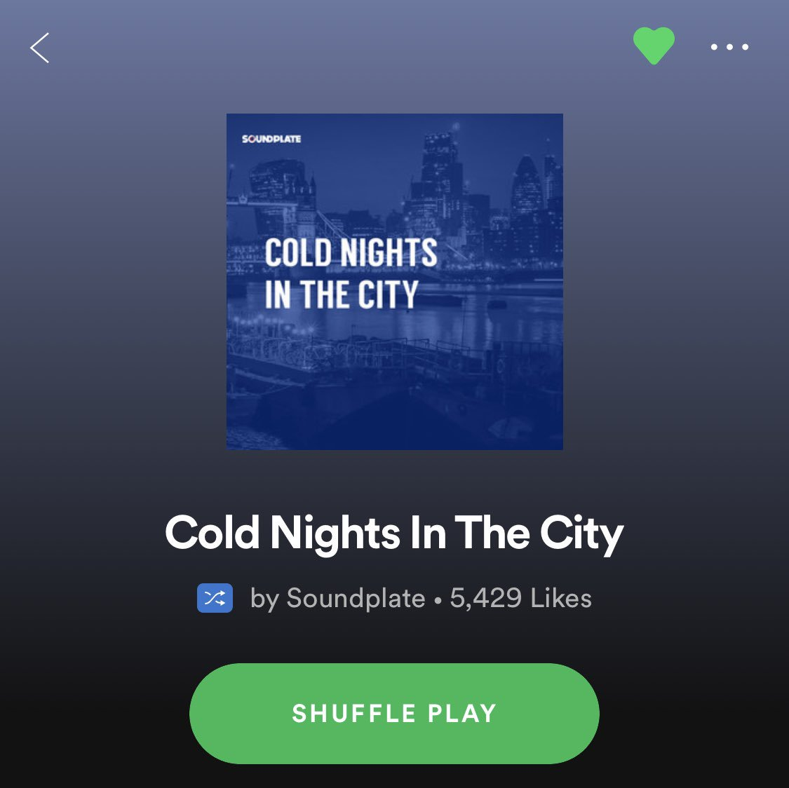 Just had my new song 'NiteVibe' added to this #Spotify #Playlist by label and curators @Soundplate  I appreciate the add 🙏🏾