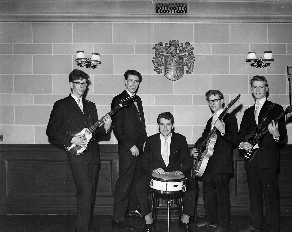 ...and another four years to 1959 when the George Watsons College boys band won the heat of the Edinburgh Progressive Association competition at the Palais. The smart-dressed combo was called Unit One 🎸🎸🎸 (© The Scotsman Publications Ltd. Licensor @Scranlife)