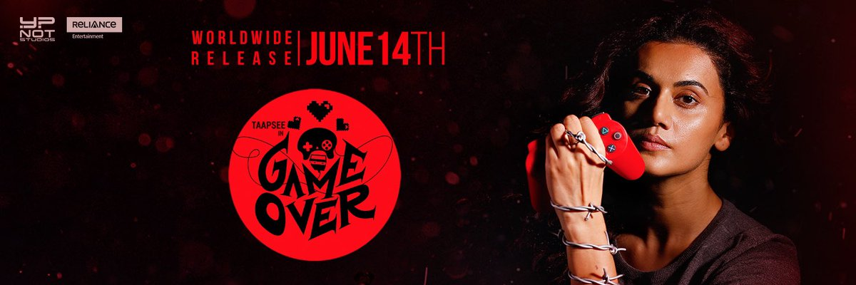 #GameOver coming on 14th June @taapsee
