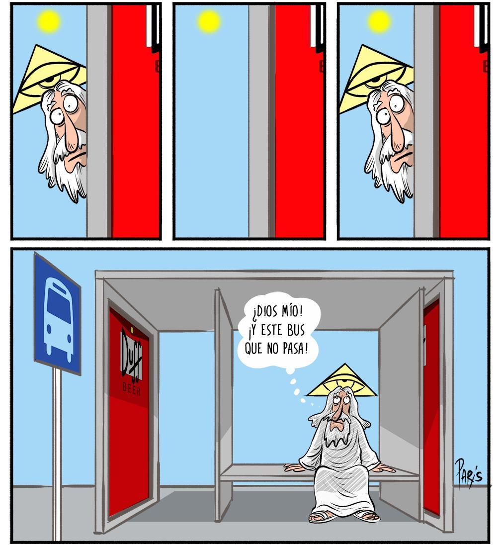 #BuenViernes #caricaturadeldía Thank God it&#39;s Friday<br>http://pic.twitter.com/mY0DsyeygZ