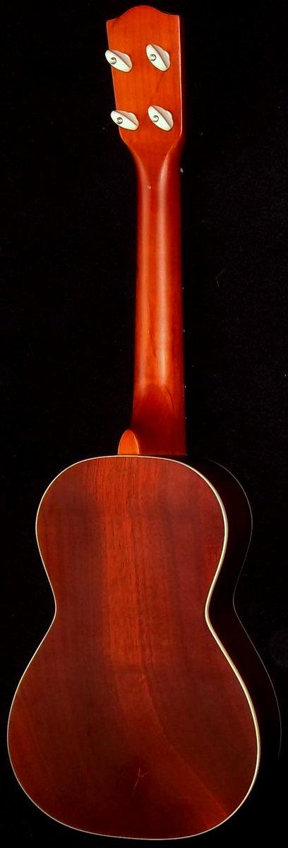 Ohana Mahogany concert ukulele back