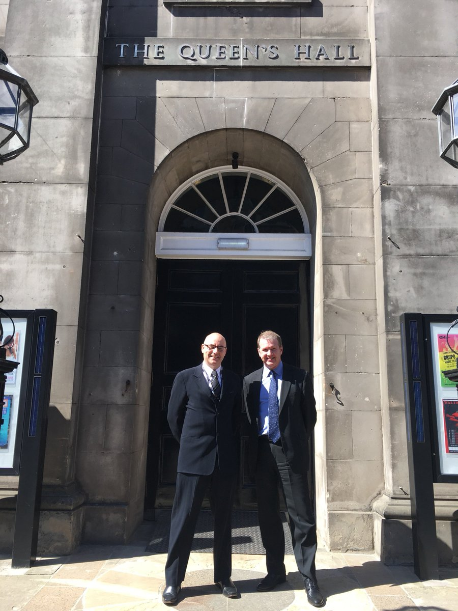 Thanks to the team at @queens_hall for giving us a behind the scenes look at works which we funded through our Historic Environment Repair Grant. A range of works were carried out to the stone and roof to ensure the iconic #Edinburgh building is preserved for generations to come