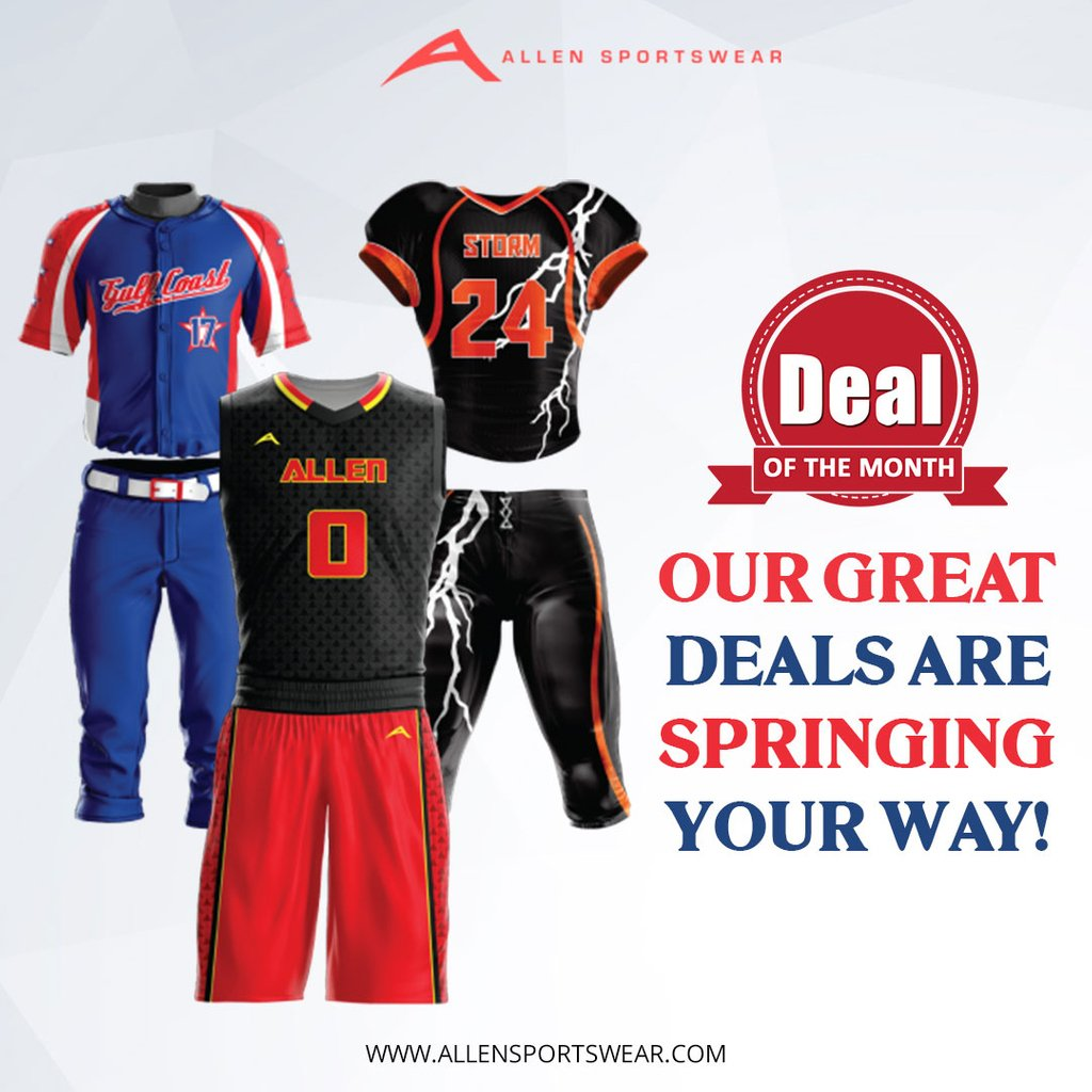 82afda58c10 Freshen up your team uniforms this spring with the uniform package that  works best for you