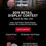 Image for the Tweet beginning: Golf Pride is running a