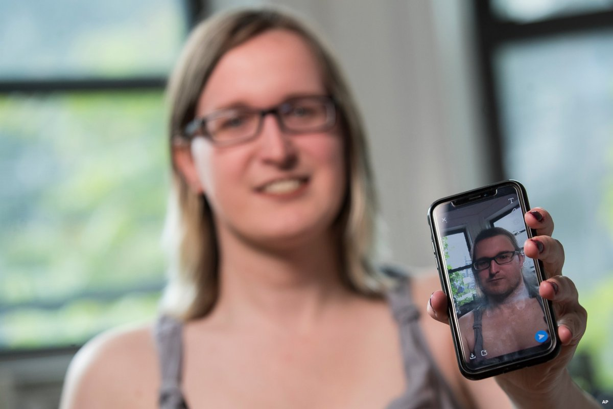 """My gender is not a costume"": For trans people, gender-swap photo filters are no mere game. https://abcn.ws/2VJqnQw"
