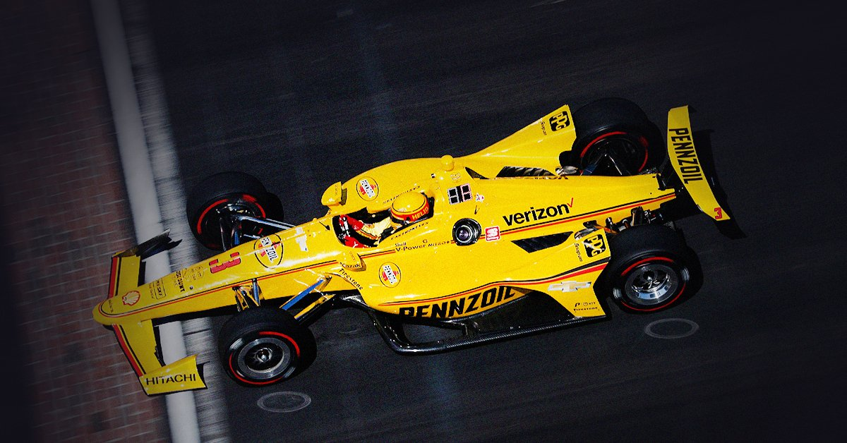Speedway, say hello to Helio. Tune in to watch @h3lio make a run for the pole in the #YellowSubmarine during qualifying for the Indianapolis 500 on Saturday, May 18th. Boa sorte! . . . #TheProofIsInThePennzoil #Yelio #Pennzoil #NaturalGas #MotorOil