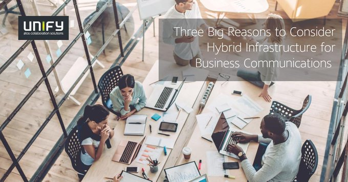 Discover the key benefits of hybrid infrastructure for business communications in this blog...