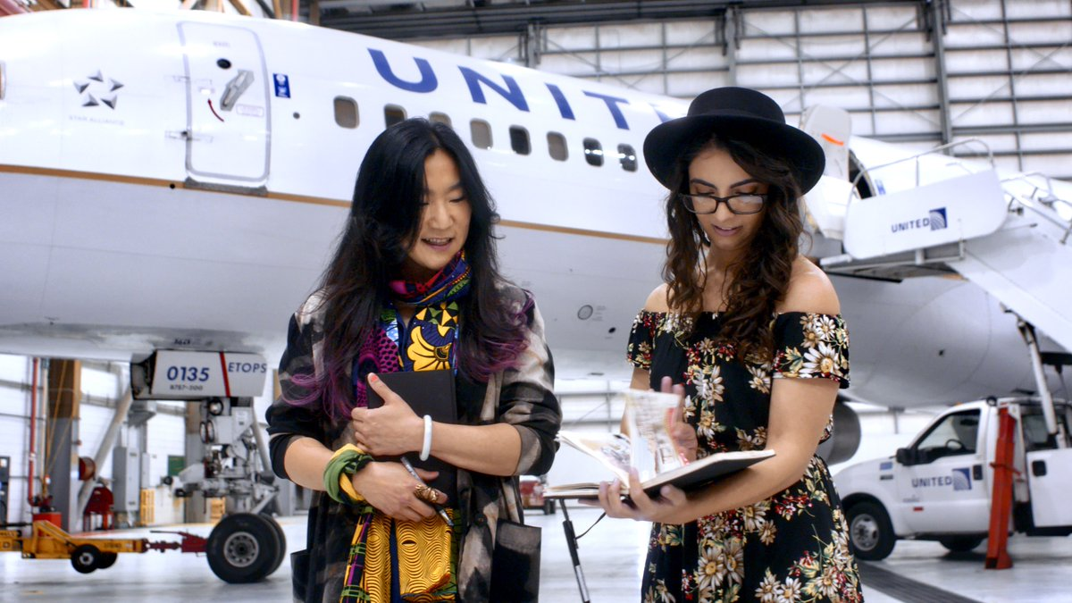 We are thrilled to announce the regional grand prize winners of the #HerArtHere contest: Corinne Antonelli and Tsungwei Moo! We can't wait to see your designs painted on two of our 757s this fall. http://united.com/HerArtHere