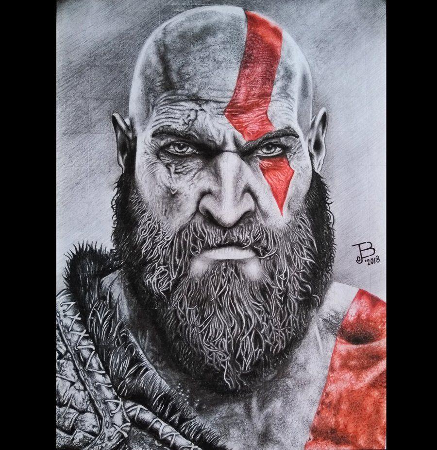Dibujando A Twitter Kratos God Of War 4 Po Eduardo Batista Ejboart Https T Co Kxxwgggnrq Tecnica Grafito Color Materiales Lapices De Dibujo Y De Color Hoja Opalina Retratos Tradicional Realista Lapiz Color Comentarios