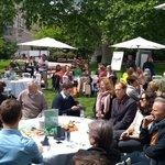 Image for the Tweet beginning: Anregende Diskussion beim Forum im