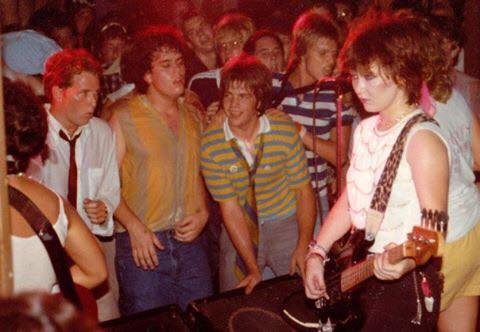 Dudes in our face at the Milestone Club in Charlotte, NC Aug 9, 1981.   #FlashbackFriday <br>http://pic.twitter.com/aqcRt1iiml