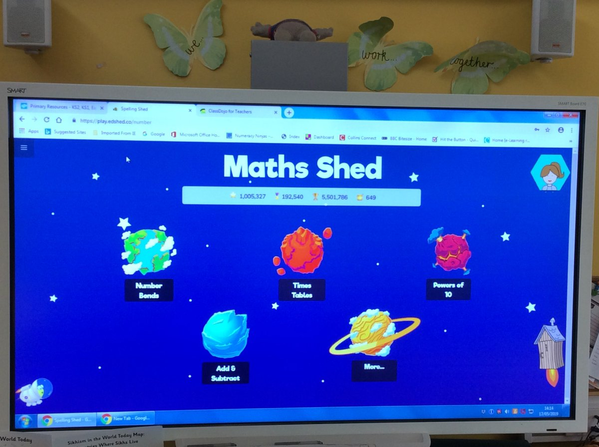 Marvellous maths news from Maple Class today - after lots of dedication and great maths on the @Mathsshed website they are now very proud to be ranked third in the entire WORLD on Maths Shed. A huge well done to our Maple Maths Marvels!