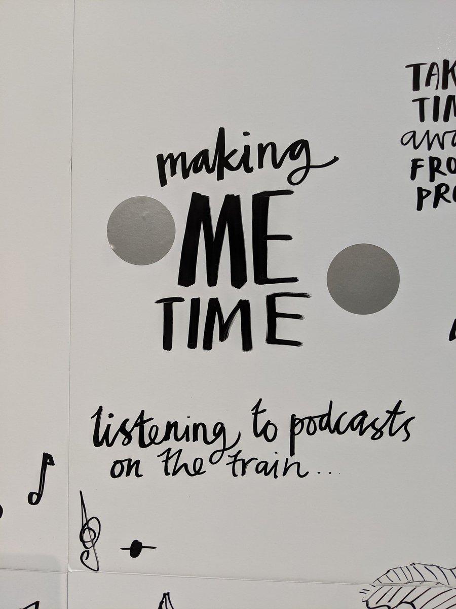 """Making ME time."" #MentalHealthAwarenessWeek"