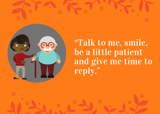 Its #DementiaActionWeek and Dawn from our @hub_leeds has written a blog about starting a conversation with someone living with dementia. Take a look here: carersleeds.org.uk/carers-leeds-b… #DAW2019