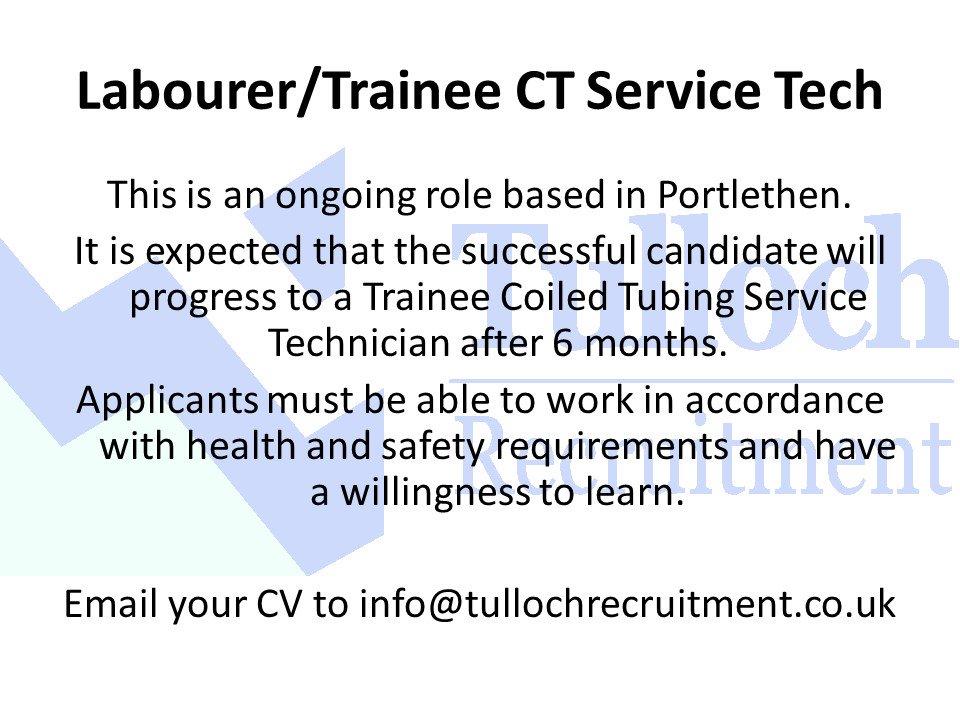 Tulloch Recruitment (@TullochRecLtd) | Twitter