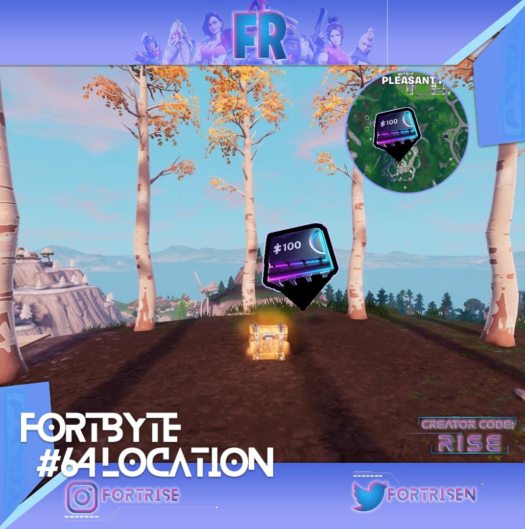 Rise On Twitter Here S Where To Find The Fortbyte 64