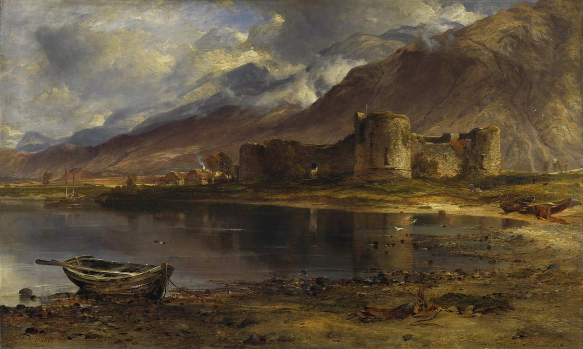 Romantic Scotland, our exhibition at Duff House with @NatGalleriesSco, opens tomorrow! Explore the impact and legacy of the Romantic era in Scotland through a mix of artworks and artefacts ow.ly/I8UO50ug8Cm