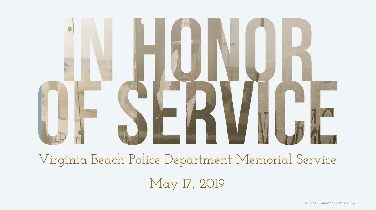 Today we recognize all the men and women who made the ultimate sacrifice. Their service will never be forgotten. Please join us at 35th Street and Boardwalk for our Annual Memorial Service being held at 2 PM.