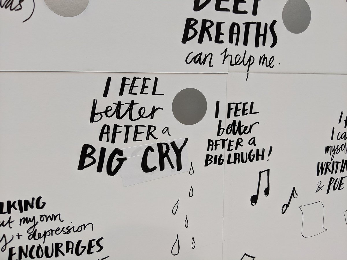 """""""I feel better after a big cry... I feel better after a laugh!""""   Laughing or crying, if it makes you feel better then it's #selfcare #MentalHealthAwarenessWeek"""