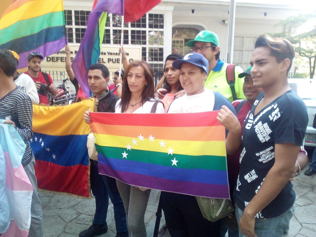 Венесуэльские геи против США