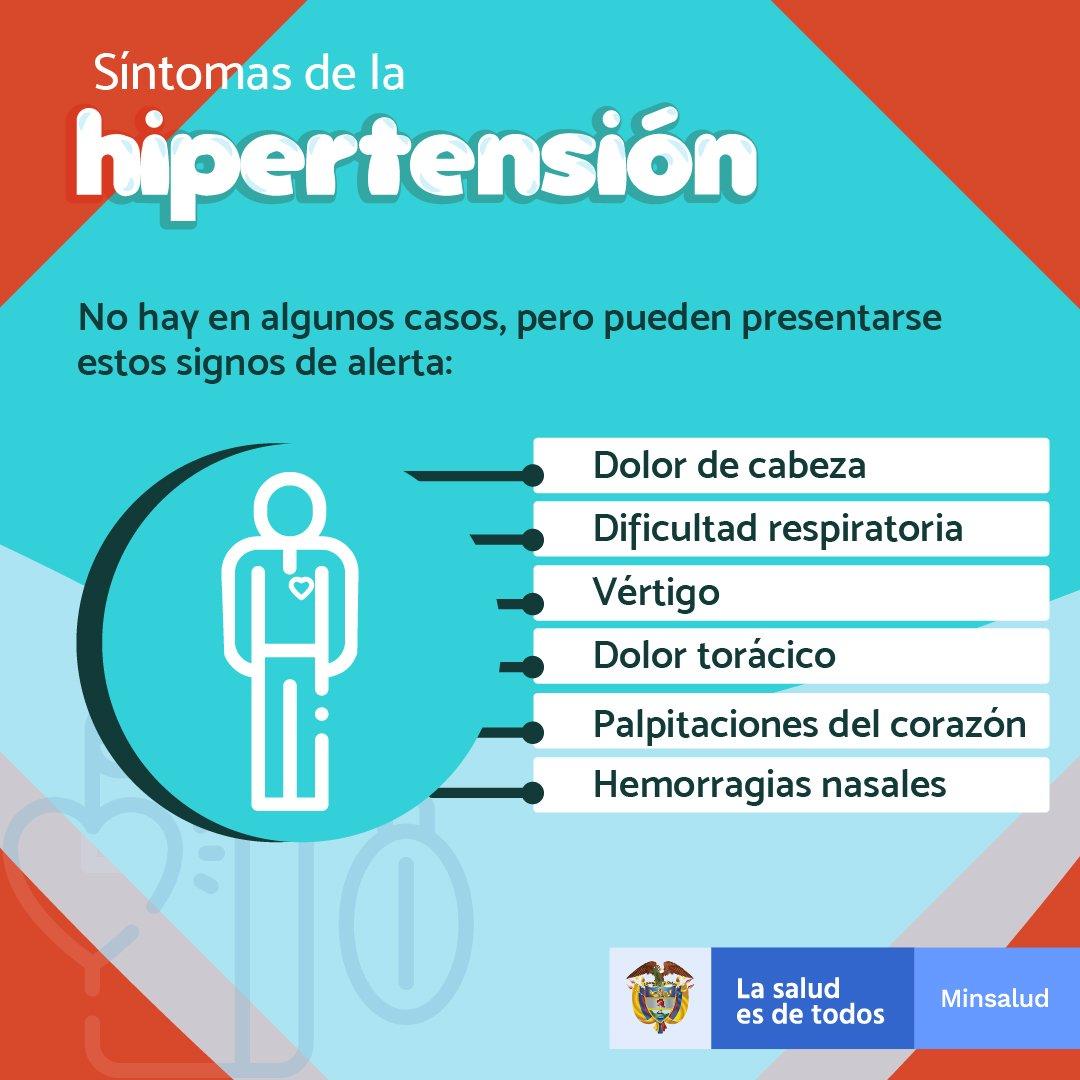 Hipertensión signos y síntomas enfermedad