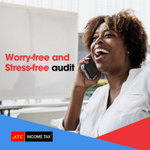 Experience a worry-free and stress-free audit from IRS with our team to support you and back you up with everything you need.  Sit back, relax, and enjoy the audit!  Give us a call at 855-ATC-1050.