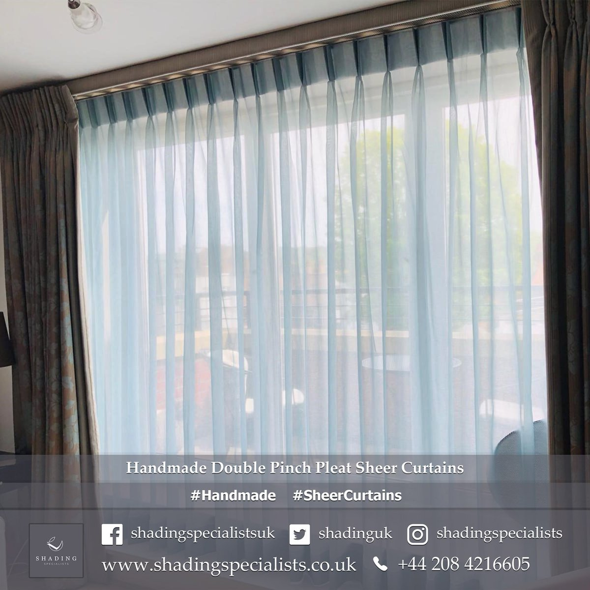 Shading Specialists On Twitter Handmade Double Pinch Pleat Sheer Curtains Https T Co Nsomopqwjo Handmade Sheercurtains Curtiansuk Curtainslondon Windowshading Windowtreatments Homeinspo Homedecor Interiordesign Https T Co Kgjahcf07r