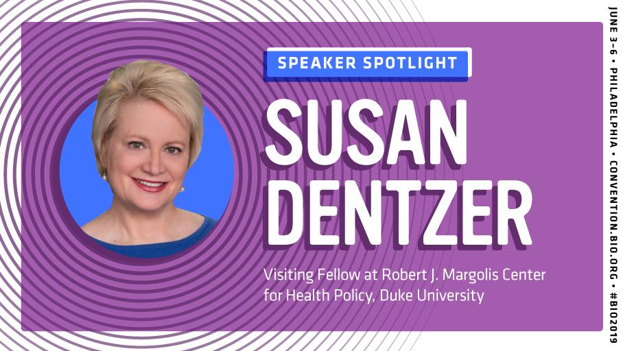 Hear from Susan Dentzer, @dukemargolis Fellow, healthcare journalist, editor and policy expert at #BIO2019! Visit this link to explore the topics she will be covering: http://bit.ly/2WccHNj