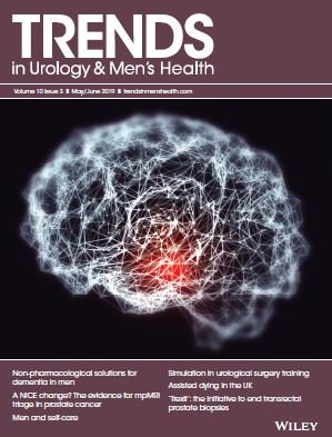 The May/June 2019 issue of Trends is now available -  https:// trendsinmenshealth.com/year-volume-is sues/volume-10-issue-3-may-jun-2019/ &nbsp; … ! Key topics include: the evidence for mpMRI triage in prostate cancer; dementia in men; men and self-care; simulation in urology; assisted dying; and 'Trexit' – the end of transrectal prostate biopsies. <br>http://pic.twitter.com/uJRSyf1RZh