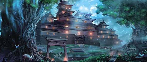 Take a closer look at the architectural marvels of Rokugani castles in today's preview for the Courts of Stone sourcebook for the Legend of the Five Rings Roleplaying Game! #L5RRPG http://fal.cn/AMsN