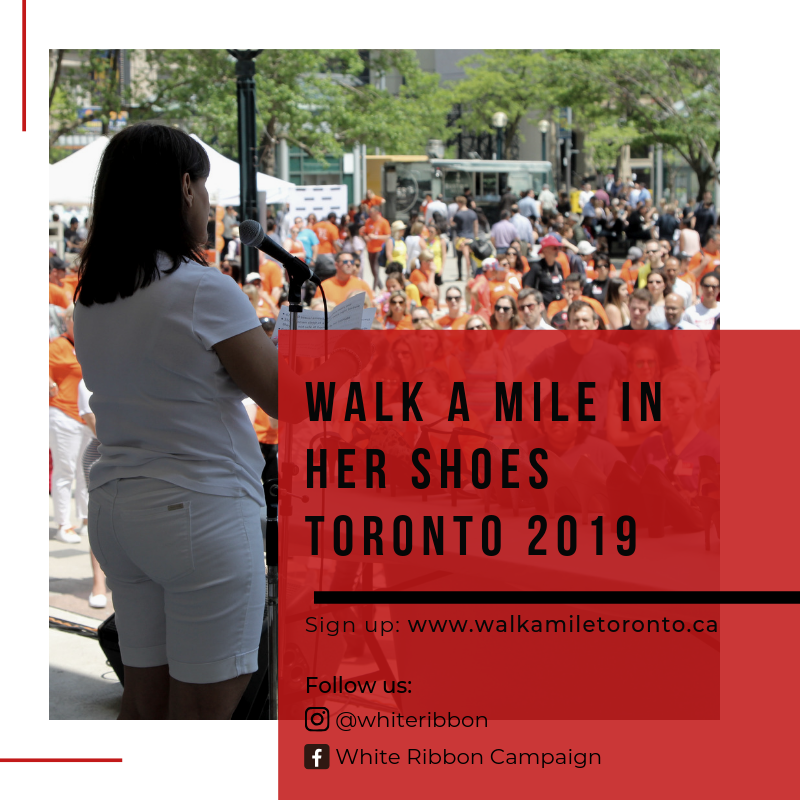 dc80dd156948 Are you passionate about gender equality and promoting action on  gender-based violence  Take part in our annual Walk a Mile in Her Shoes  Toronto event!