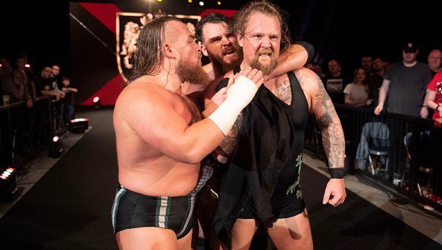 We support each otherWe watch each others backsWe stand together against anyoneWe Are #Gallus#NXTUK