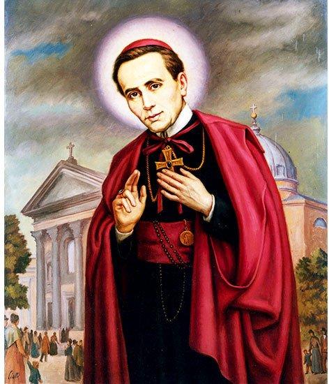 &quot;Dearest God, Give Me Holiness.&quot; ~ St. John Neumann, CSsR   #FridayMotivation #Catholic #Jesus #CatholicTwitter #Pray #CatholicChurch #FaithFriday<br>http://pic.twitter.com/eUZEUYGIBg