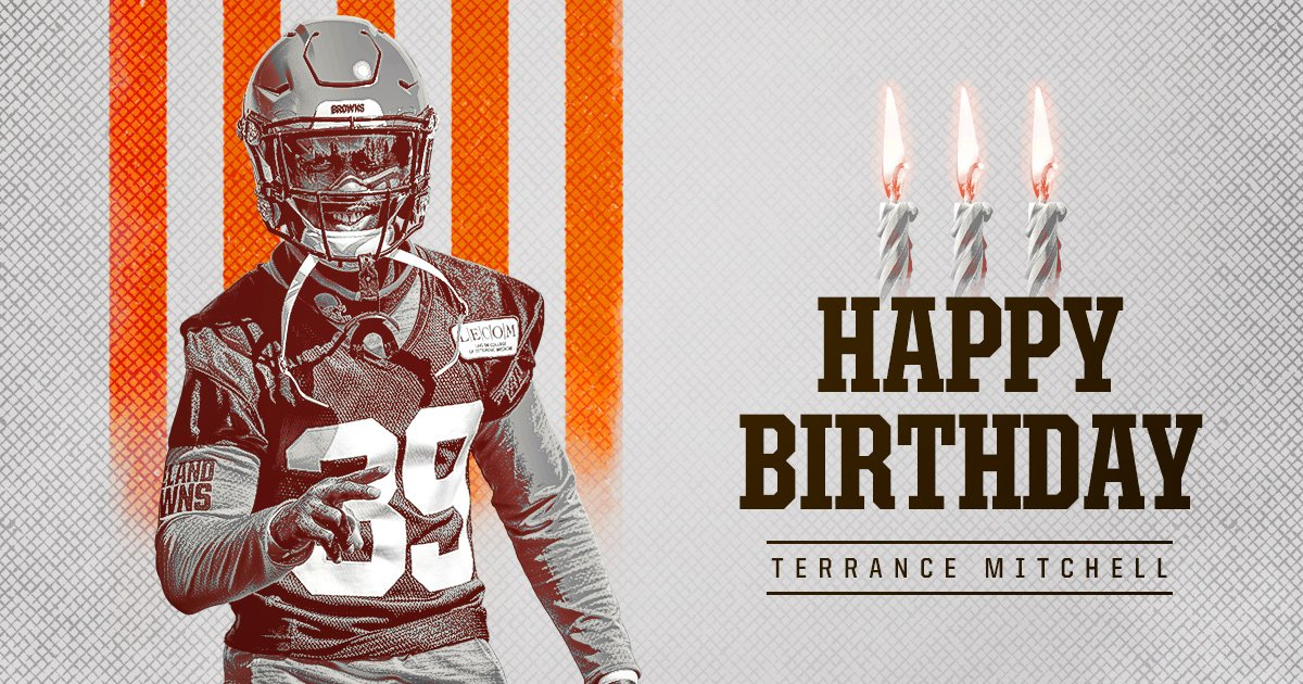 🎉 RT to wish Terrance Mitchell a Happy Birthday! 🎉