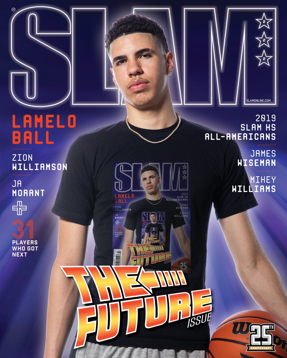 88f5acb7a LaMelo Ball covers THE FUTURE ISSUE  http   slam.ly lamelo-story  pic.twitter.com oqcRSSNDfy