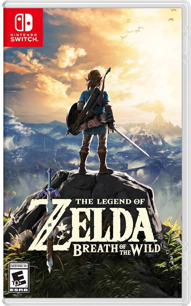 The Legend of Zelda: Breath of the Wild (Switch) is $49.94 on Amazon:  https:// amzn.to/2w8nJV2  &nbsp;   In stock May 22 <br>http://pic.twitter.com/nsGRr4KlWC