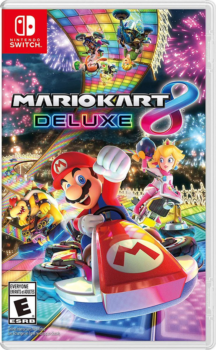 Mario Kart 8 Deluxe (Switch) is $49.94 on Amazon:  https:// amzn.to/2YEubzF  &nbsp;   In stock May 22 <br>http://pic.twitter.com/QUcDHZlJBo