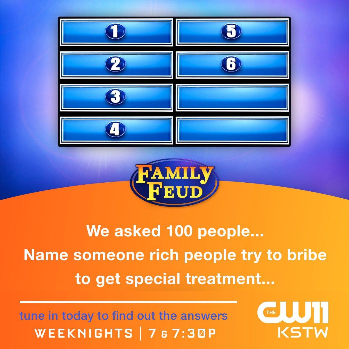 Cancelo #familyfeud no Twitter