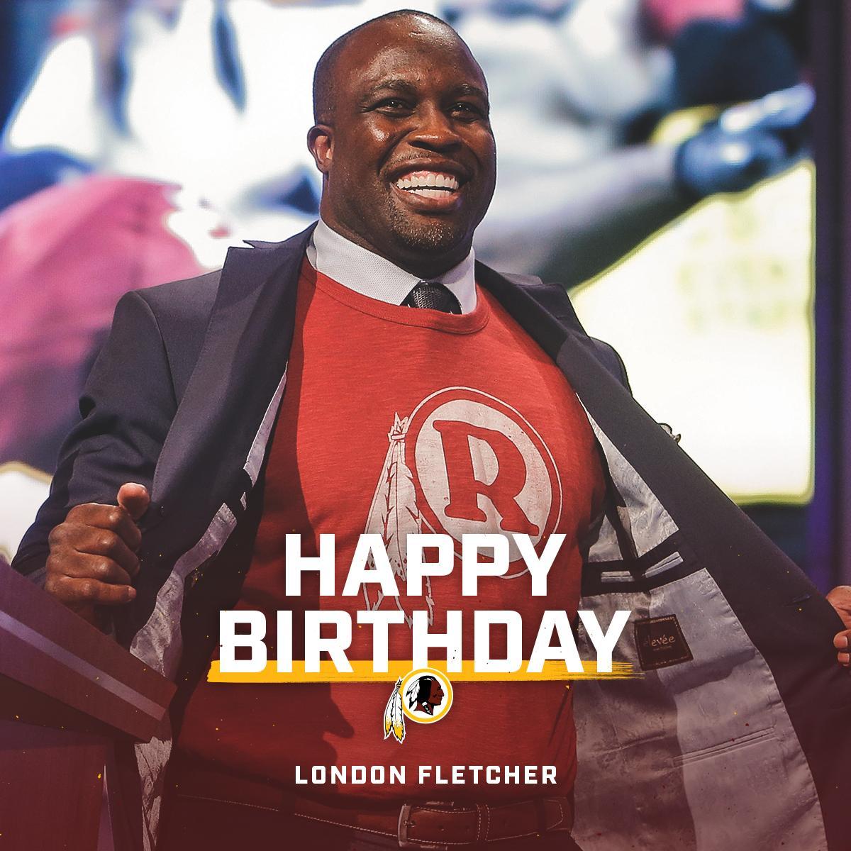RT to wish #Redskins legend @LFletcher59 a happy birthday! #HTTR