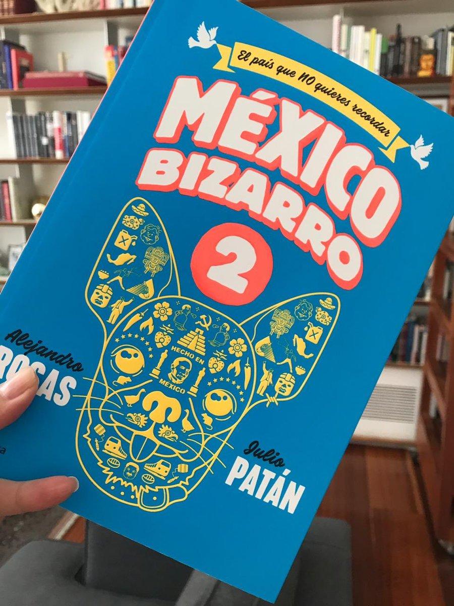 #CincoParallevar la recomendación de @ValeriaMoy es #MéxicoBizarro de @arr1910 y @juliopatan09  #AsiLasCosasConLoret @WRADIOMexico