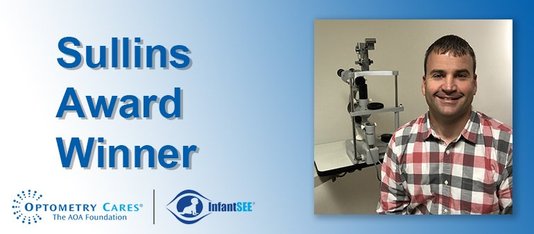 Congratulations to Martin Carpenter, O.D., for earning the 2019 Sullins Award! Learn about his outstanding commitment to optometry: http://ow.ly/AAd350ugEL1