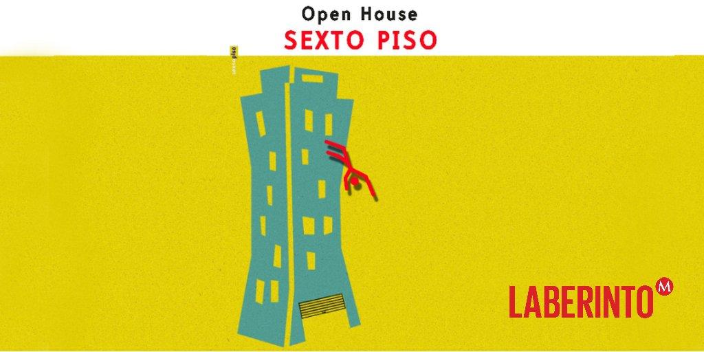 #LaBrújulaSemanal | Para los amantes de los libros, la cerveza y el mezcal (gratis), el Open House de @EdSextoPiso 18 y 19 de mayo, en @el77cultural