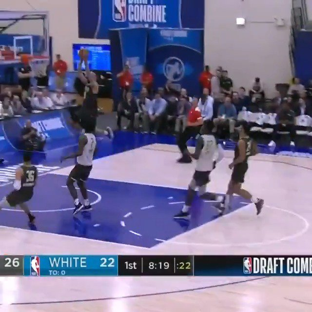 💥 @cody_martin15 (@NevadaHoops) rises for the ALLEY-OOP slam at the #NBACombine Powered by Under Armour! 📺: ESPN2