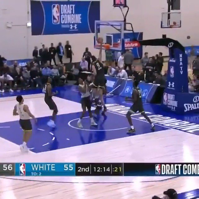 Cody Martin (@cody_martin15) of @NevadaHoops with another MONSTER SLAM at the #NBACombine Powered by Under Armour! 📺: ESPN2