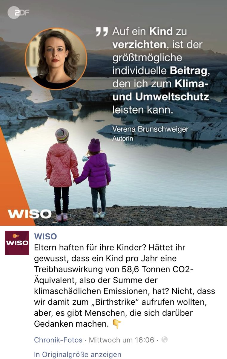 #wiso #zdf So etwas ist verabscheuend und sollte gerade von unseren #gez - Medien nicht noch verbreitet werden! #Klimaschutz #mainstream #gezabschaffen #klimalüge
