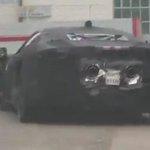 Image for the Tweet beginning: Ferrari supercar hybrid prototype chased