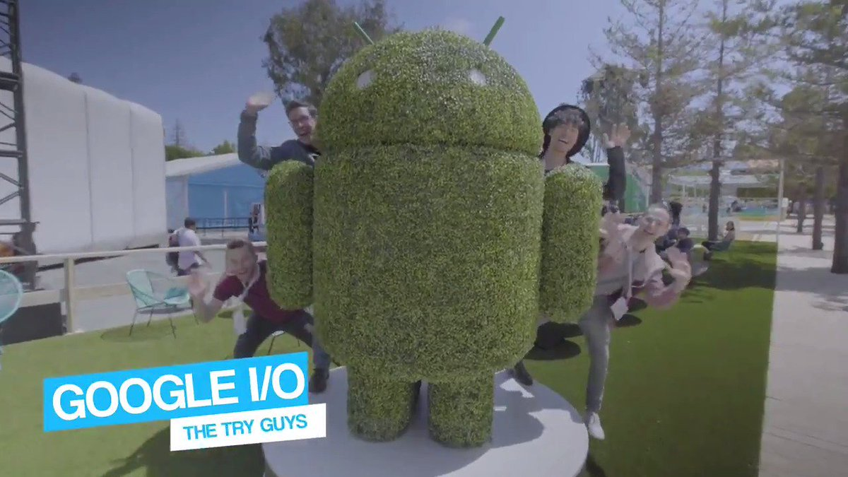See what the @tryguys got up to at #io19. Take it from them, it was quite an I/Opening experience → http://goo.gle/2VK7PzM