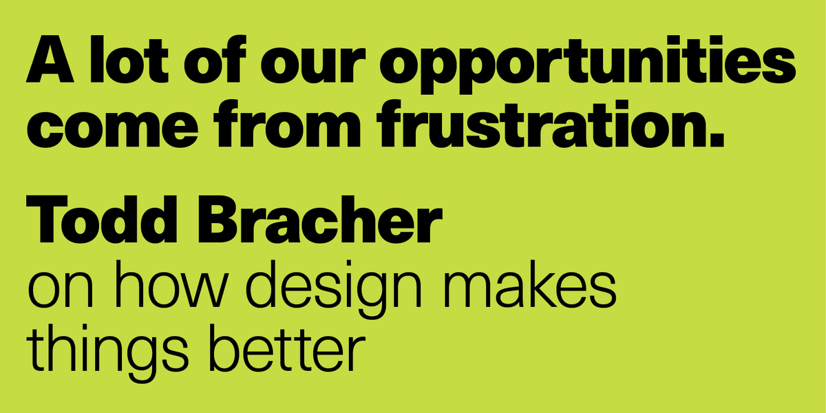 The Season 6 finale of The Design of Business | The Business of Design podcast is a conversation at @YaleSOM with the brilliant and thoughtful product designer @toddbracher. Thanks to @mailchimp for the support. See you in the fall! Listen: designobserver.com/feature/s6e12-…